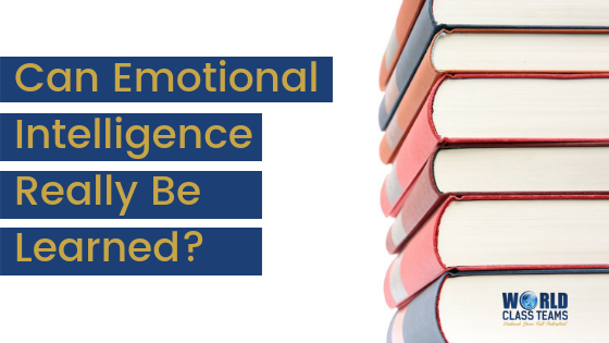 Emotional Intelligence: Can it Really Be Learned?