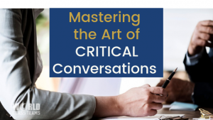 Mastering art of critical conversations