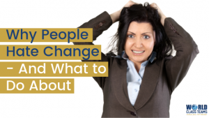 woman tearing hair out - why people hate change and what to do about it
