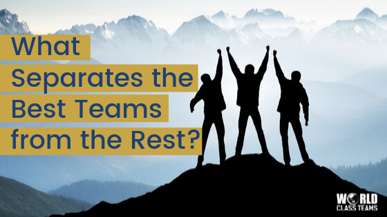 What Separates the Best Teams from the Rest?