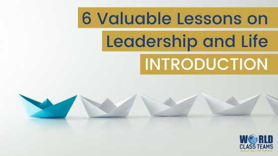Paper boats in a row - six valuable lessons on leadership and life introduction